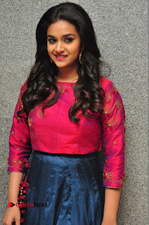 Actress Keerthi Suresh Stills at Remo Success Meet  0011.JPG