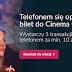 Bilet do Cinema City za 5 płatności telefonem w Banku Millennium (+460 zł na start)