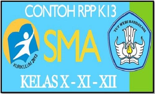 Download RPP SMA Kurikulum 2013 Komplit