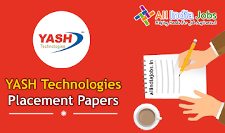 Yash Technologies Placement Papers