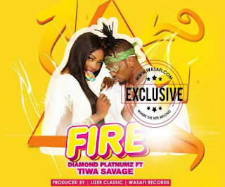 Diamond Platnumz - Fire ft. Tiwa Savage. .mp3