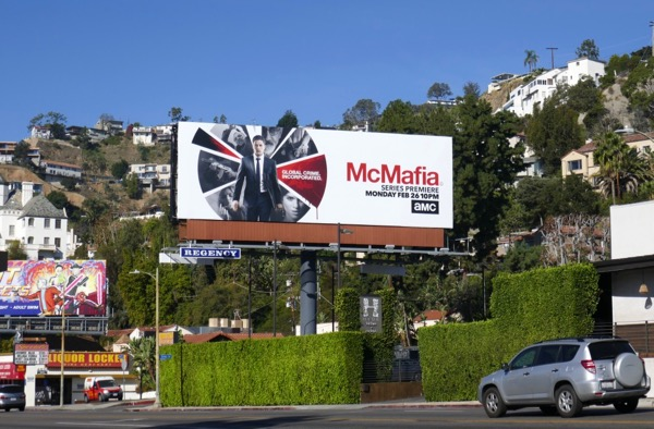 McMafia TV billboard West Hollywood