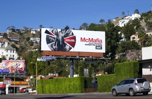 McMafia TV billboard West Hollywood