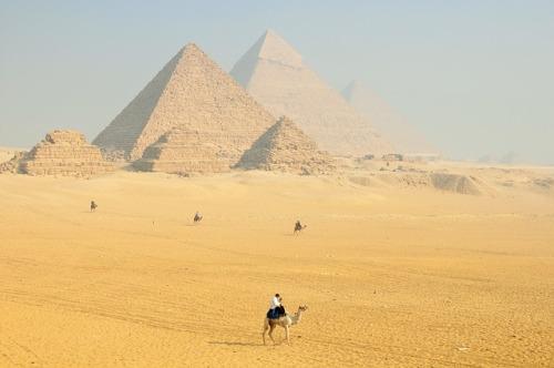 pirámides de Egipto partículas