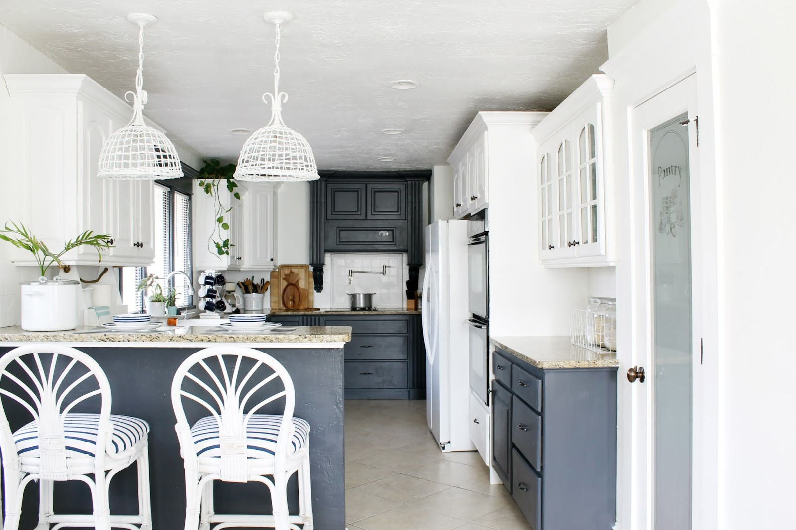 My ZEN KITCHEN Makeover - New Paint Color Reveal! - The Wicker House