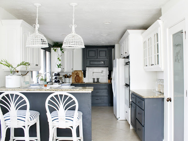 My ZEN KITCHEN Makeover - New Paint Color Reveal!