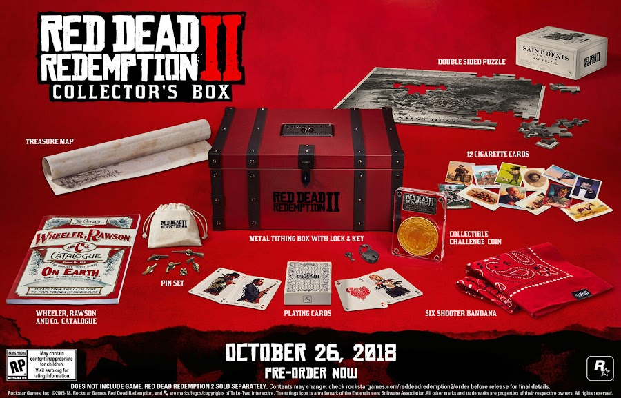 red-dead redemption 2 collectors box