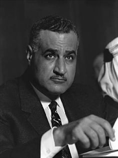Gamal Abdel Nasser President of Egypt