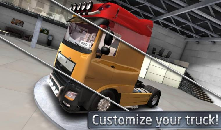 Euro Truck Driver 2018 customize your truck