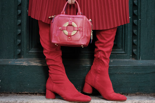 Lakatwalk - a fashion and lifestyle blog.: Pink & Red