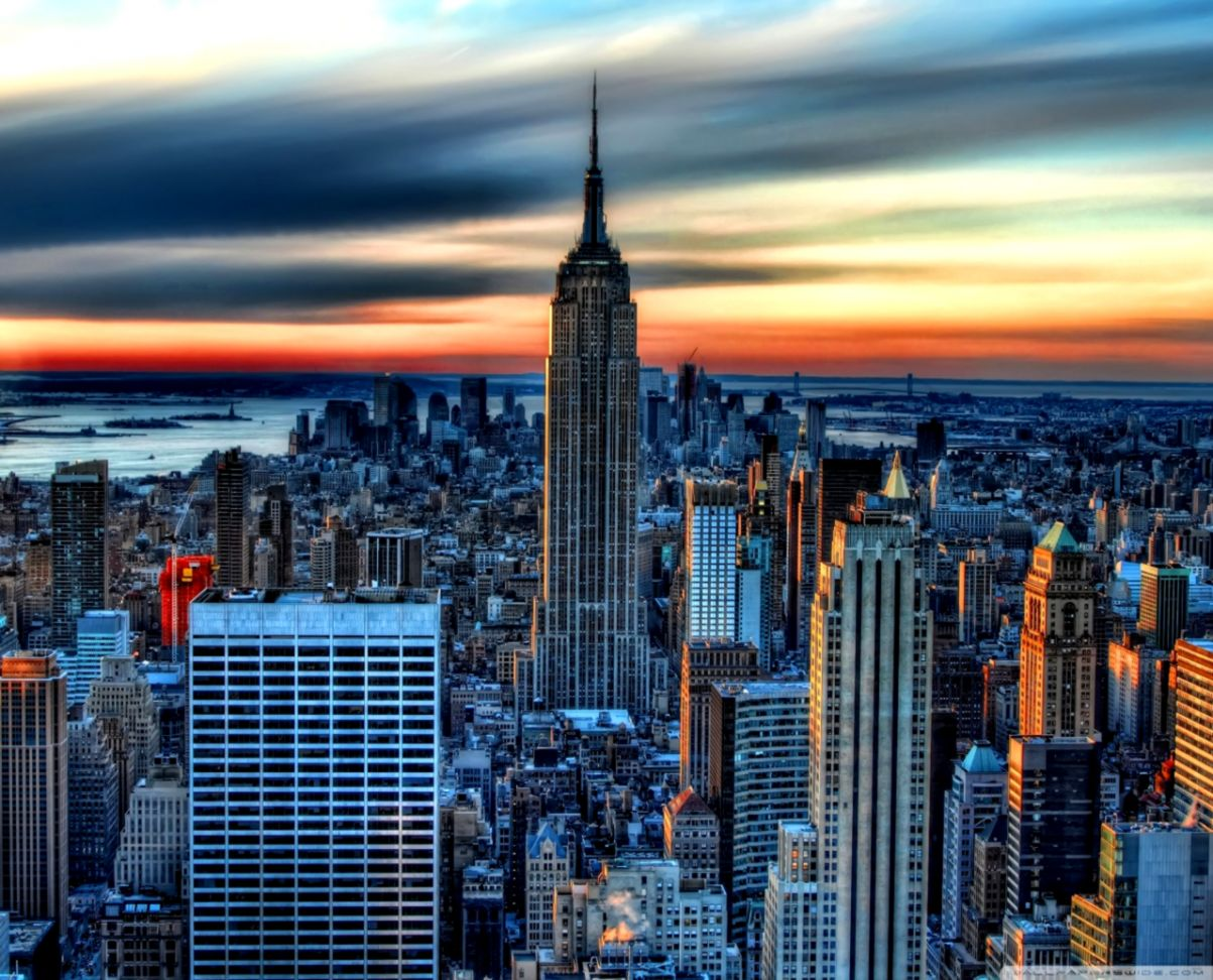 New York Skyline Iphone 5 Wallpaper Love Wallpapers