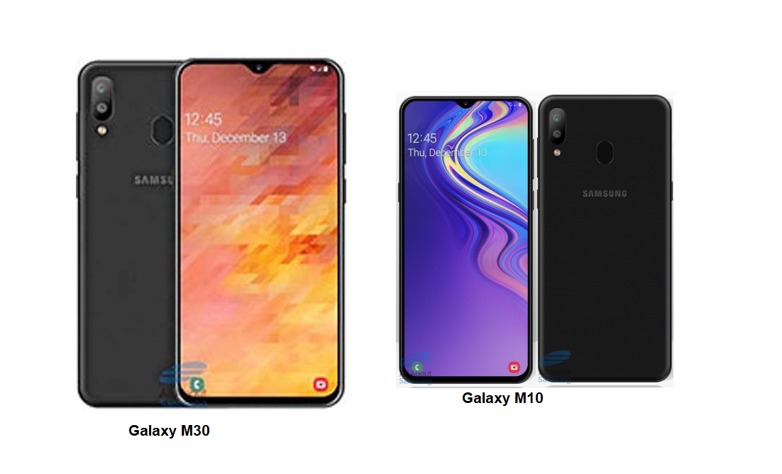 Samsung Galaxy M30 Vs Samsung Galaxy M10 Specs Comparisons