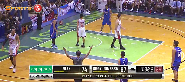 Ginebra def. NLEX, 90-80 (REPLAY VIDEO) January 29