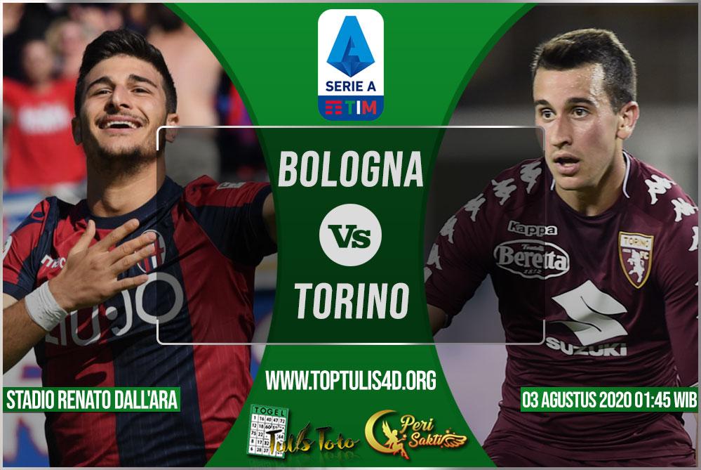 Prediksi Bologna vs Torino 03 Agustus 2020