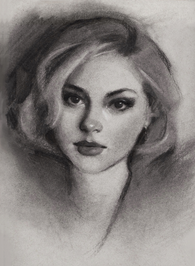 08-Gabrielle-Brickey-Strength-and-Purpose-through Charcoal-Portraits-www-designstack-co