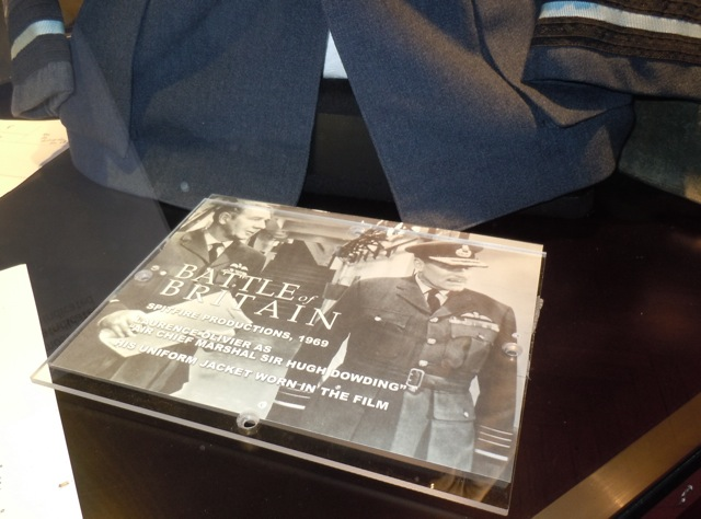 Battle of Britain costume display