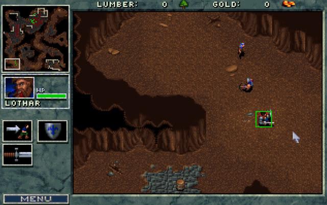Warcraft 1 Lothar Screenshot