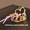 Glitter First 1st Birthday Crown