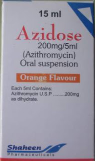Azidose 15ml suspension