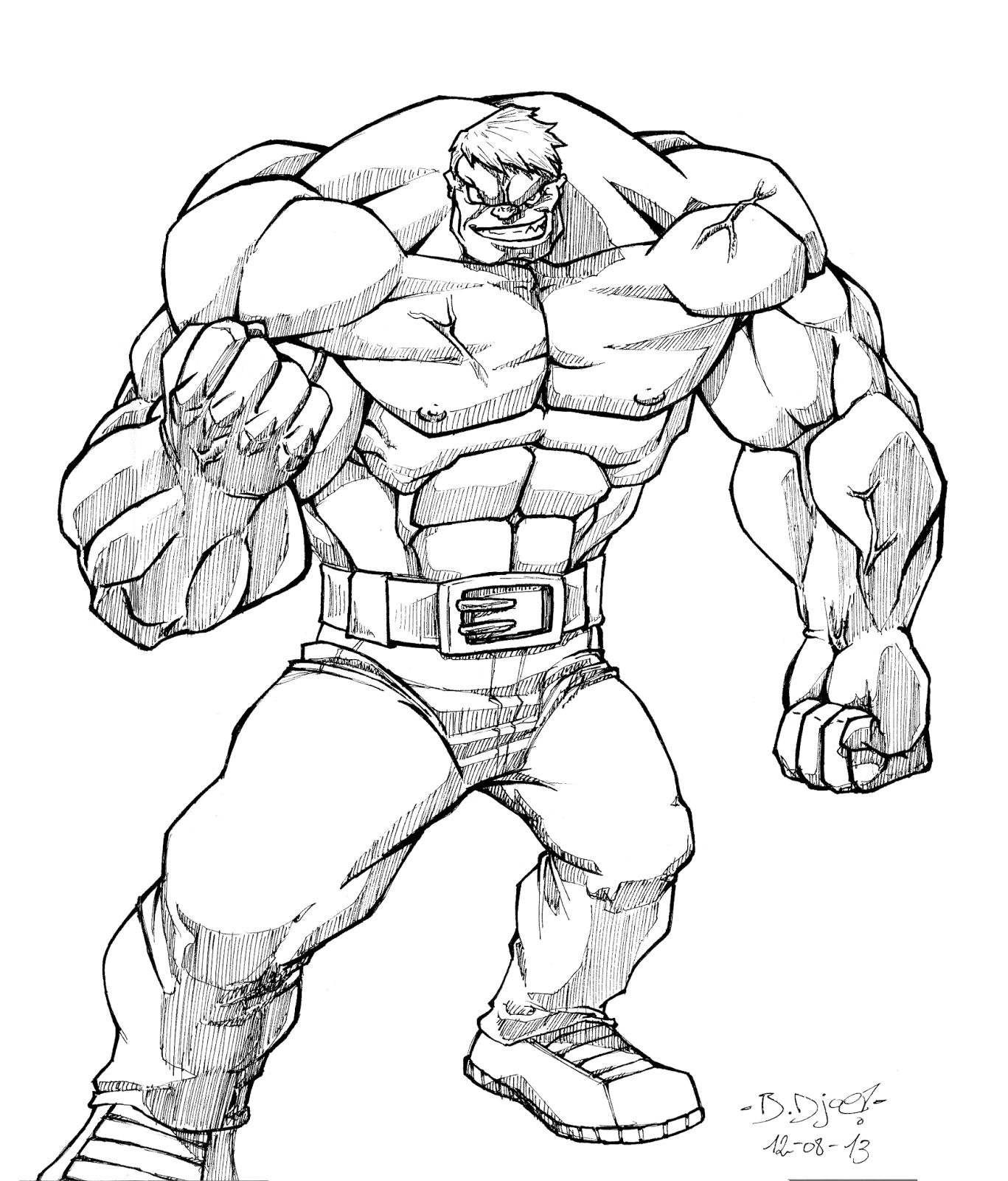Fanart de L'Incroyable Hulk