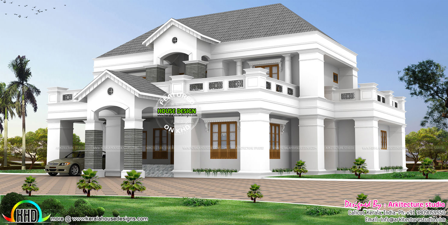 Delighted Colonial Home Designs Images - Home Decorating Ideas ...