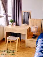 Thuê chung cư Saigon Pearl 2 phòng ngủ - bàn trang điểm tại phòng ngủ