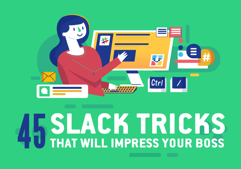 Top Tips for Getting the Best out of Working with Slack (infographic)
