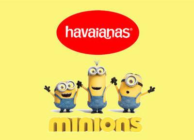 Havaianas de los Minions chanclas