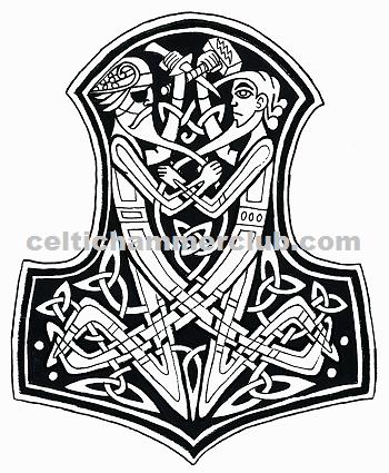 celtic hammer club celtic norse art. Black Bedroom Furniture Sets. Home Design Ideas