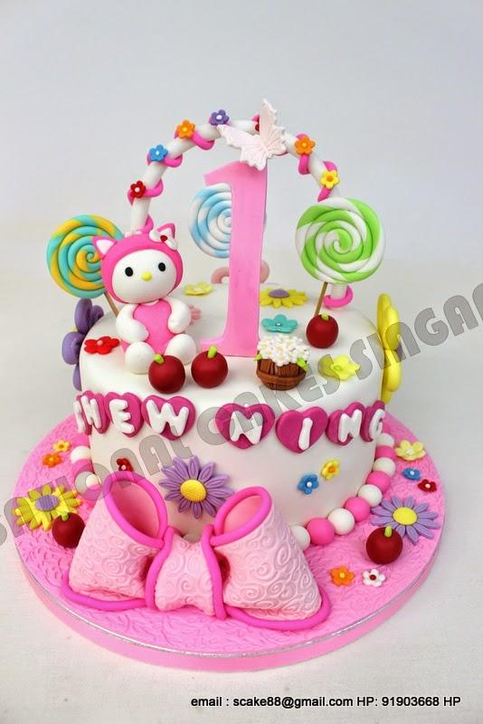 My Melody Birthday Cake Singapore