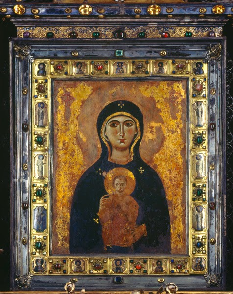 The One True Faith Icon Of The Virgin Nicopeia