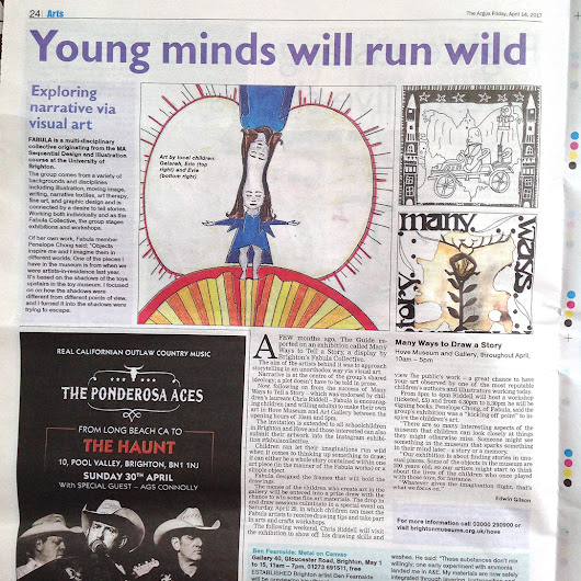 Fabulous write up in The Argus!