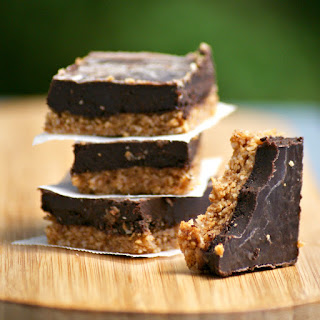 Vegan Paleo Chocolate Coconut Slice Recipe - paleo, vegan, healthy, gluten free, grain free, sugar free, no bake, raw, clean eating recipe