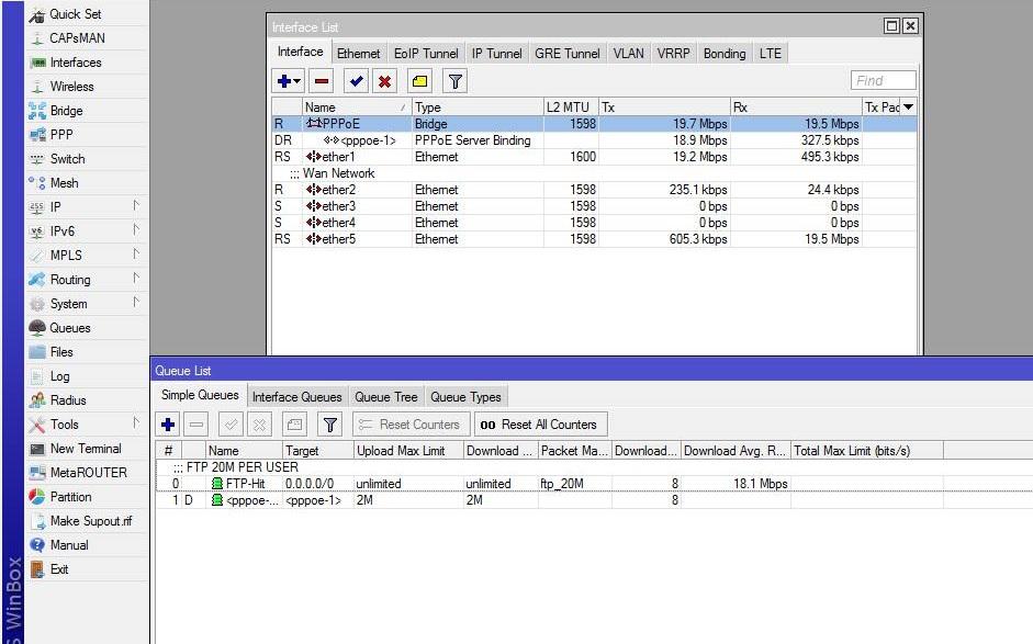 Mikrotik - PPPoE Server With FTP (20MB Per User) ~ Assuntos de Redes