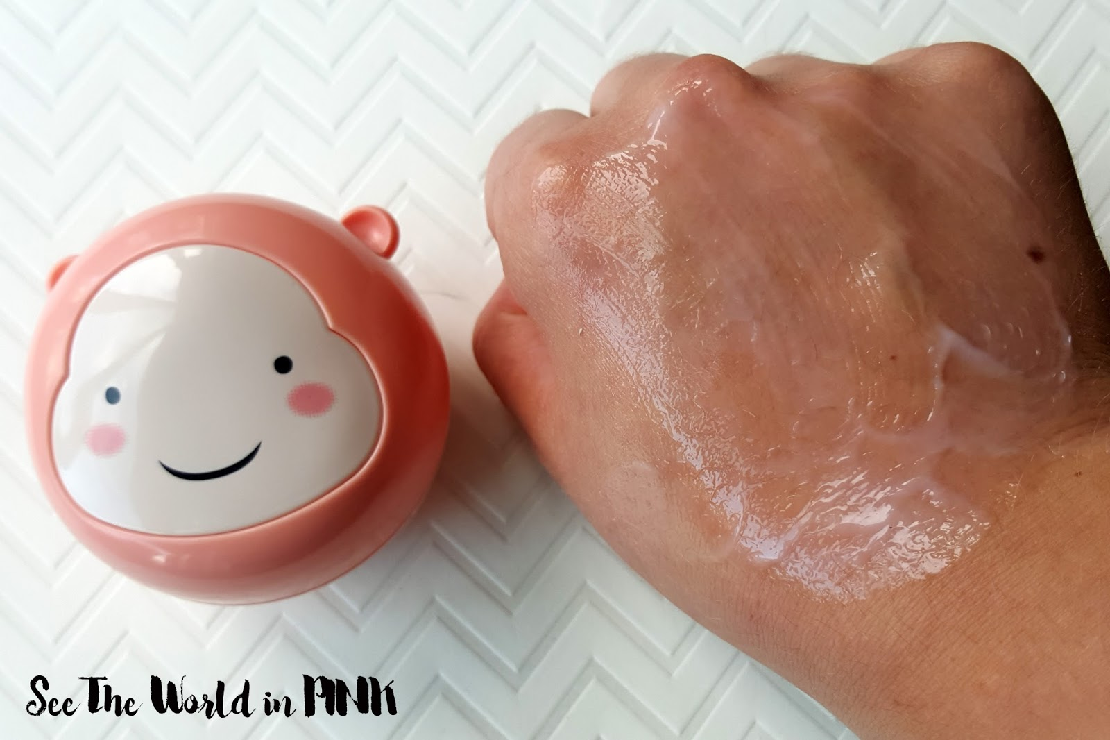 THEFACESHOP Lovely Me:ex Waterful Grapefruit Mask Review