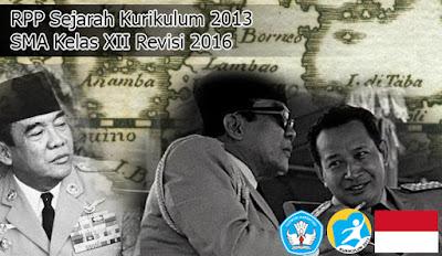 Download RPP Sejarah Kurikulum 2013 SMA Kelas XII Revisi 2016