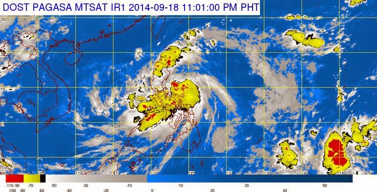 Typhoon Mario Updates: Strom Signal and Affected Locations #MarioPH