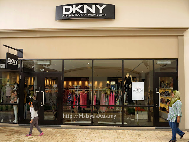 Malaysia DKNY Outlet Store