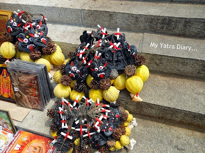 Trinkets sold at Tirupati Balaji Temple, Andhra Pradesh