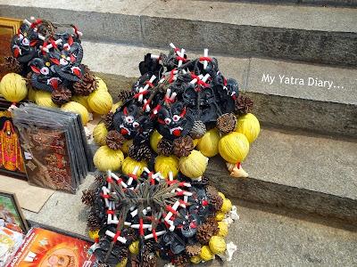 Trinkets sold at Tirupati Balaji Temple, Andhra Pradesh