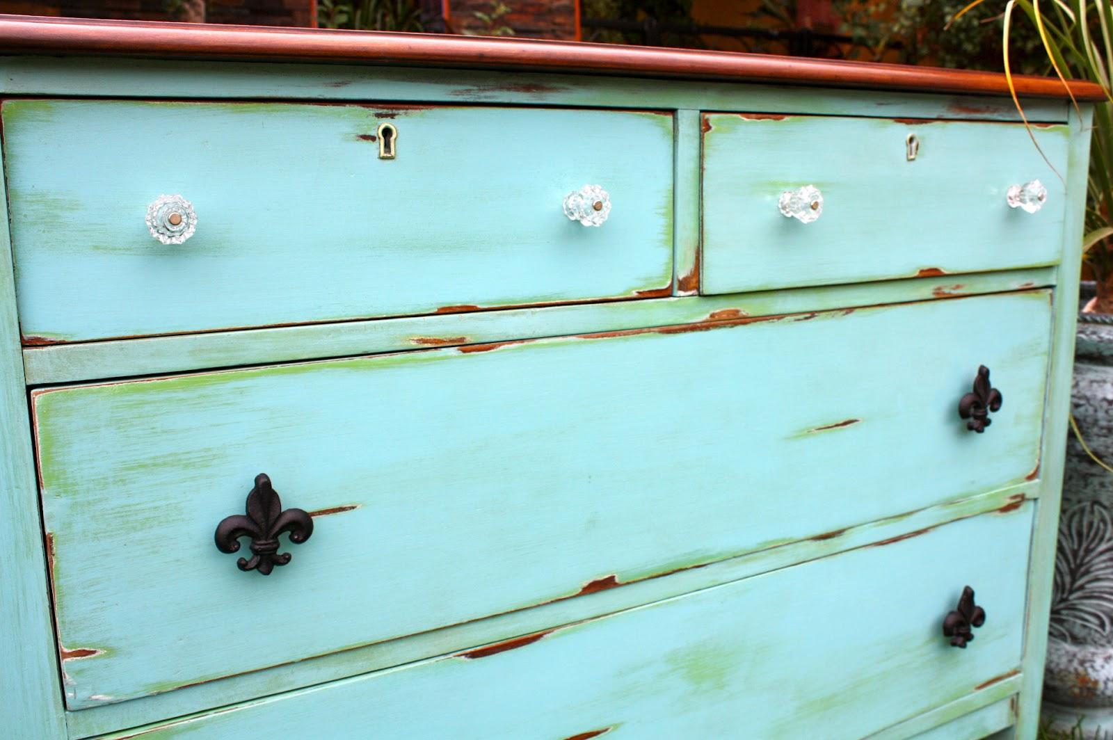 Makemeprettyagain The Agave Color Antique Dresser Make Over