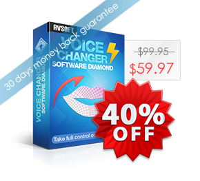 Voice Changer Software Diamond's product box