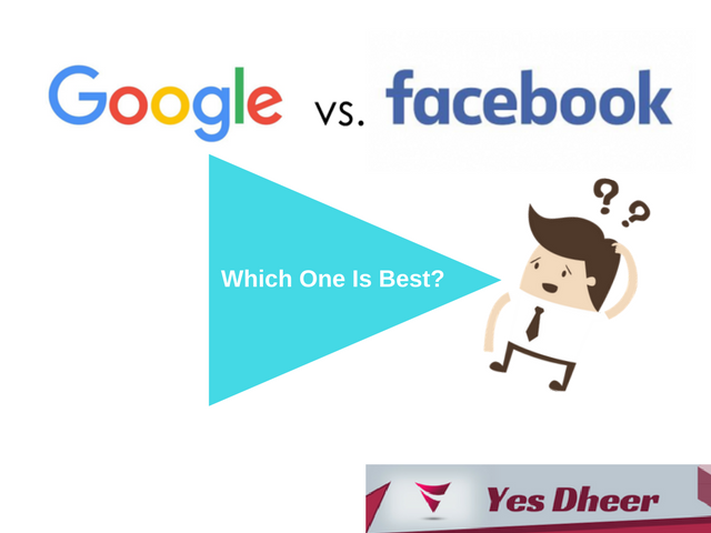 FaceBook Advertisement versus Google Ads
