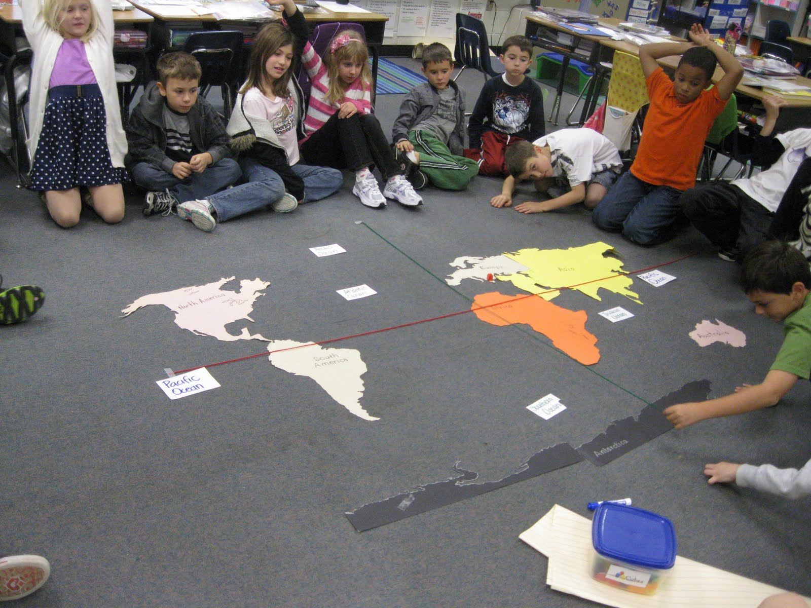 Third Grade Thinkers Where In The World