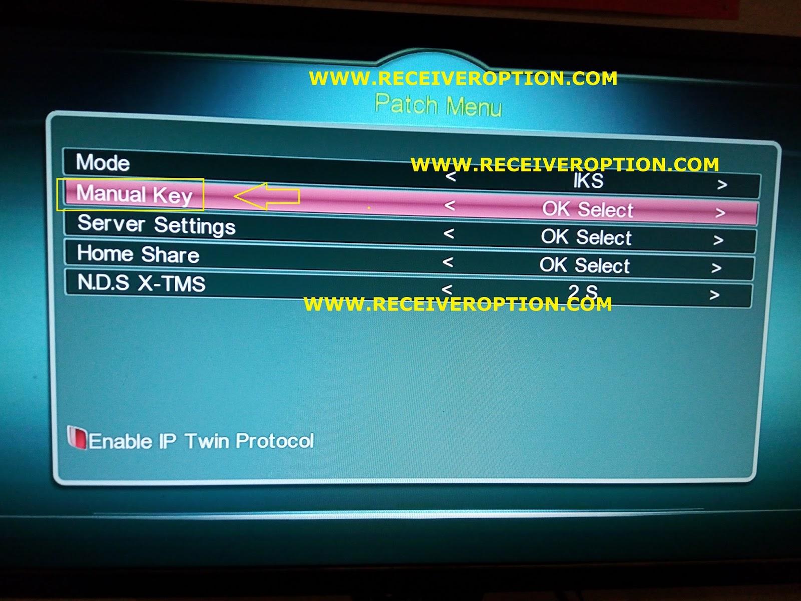 SUPER MAX SM 3000 HD 3G RECEIVER POWERVU KEY OPTION - HOW TO