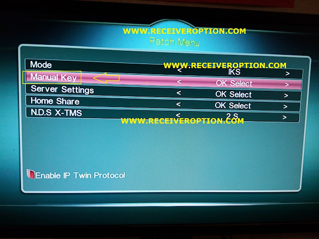 SUPER MAX SM 3000 HD 3G RECEIVER POWERVU KEY OPTION