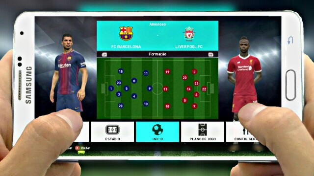 NEW!! FOOTBALL OFFLINE ANDROID REAL FACES UPDATED 2018