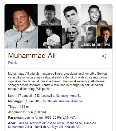 13 Fakta Menarik Tentang Muhammad Ali Seorang Petinju Profesional