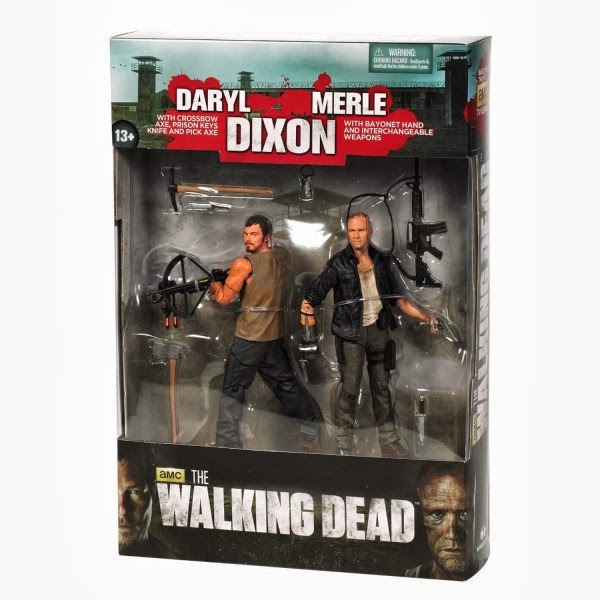 Daryl e Merle Action Figures