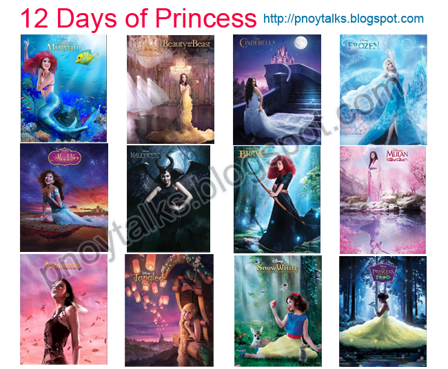 Disney's 12 Days of Princess
